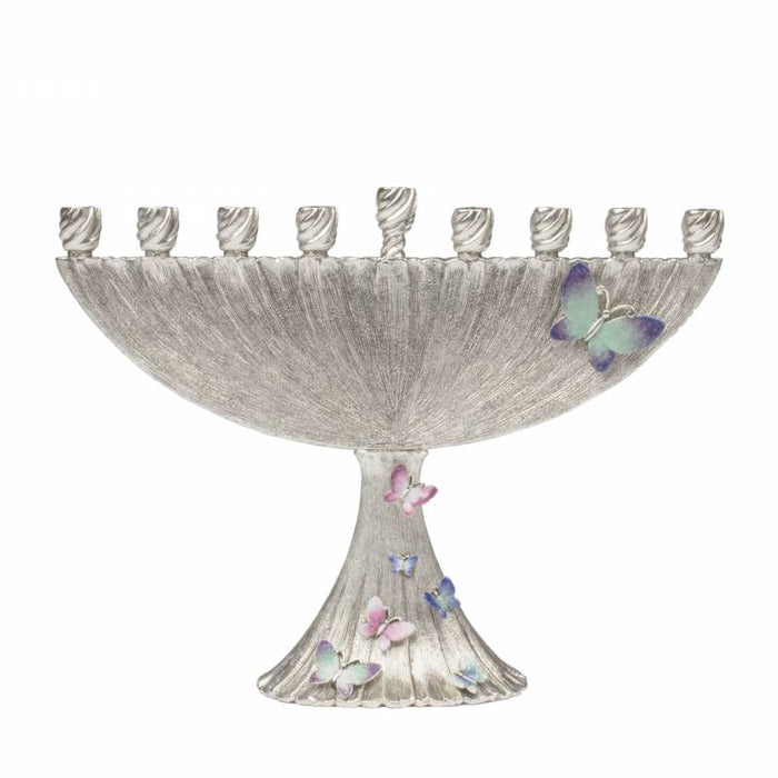 Butterfly Menorah