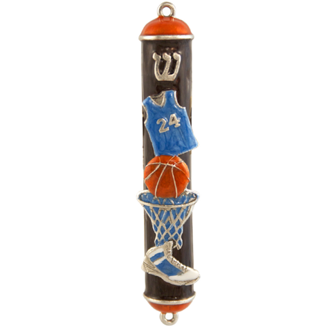 Basketball Mezuzah