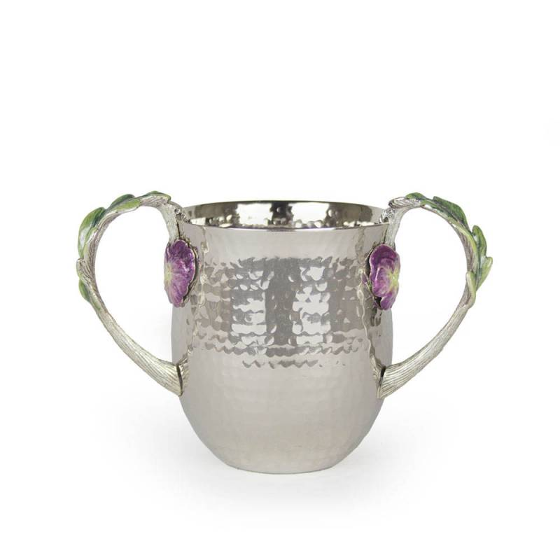 Hammered Pansy Washing Cup