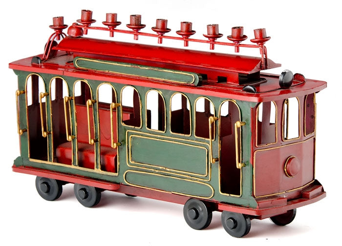 Trolley Menorah