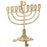 Mini Brass Plated Menorah