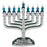 Knesset Menorah with Symbols of the Twelve Tribes