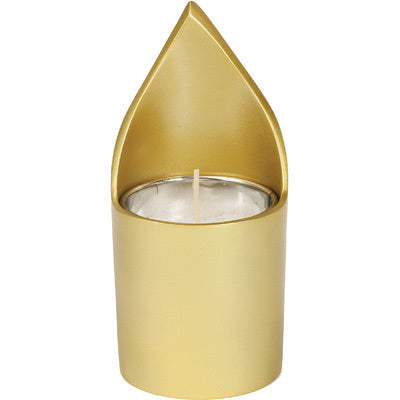 Anodize Memorial Candle Holder Gold
