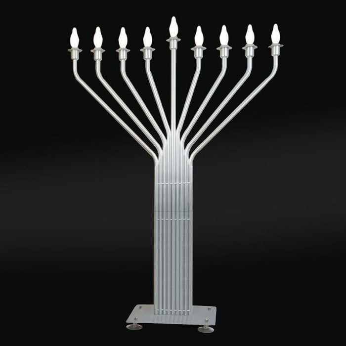 6 1/2' Tall Electric Display Menorah