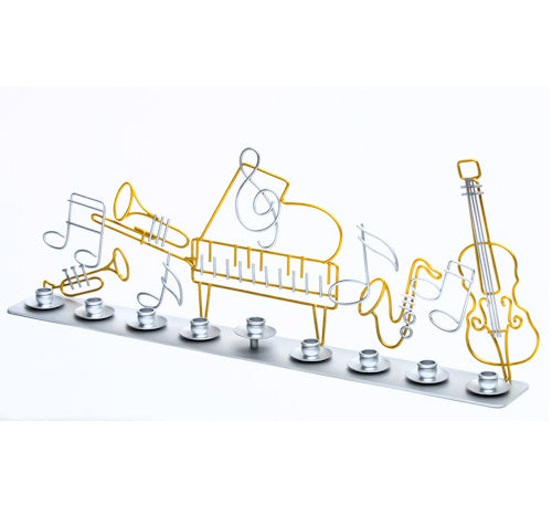 Clef Notes Menorah