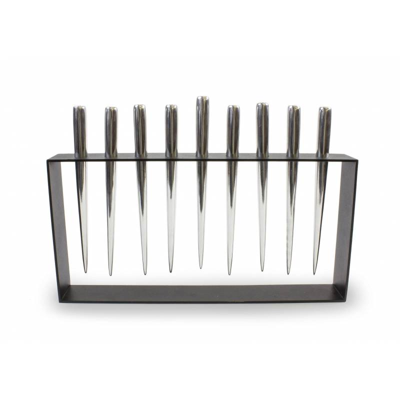 Industrial Chic Menorah