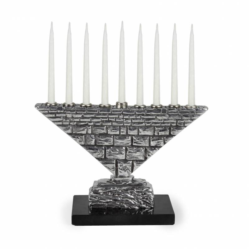 Kotel Wall Menorah