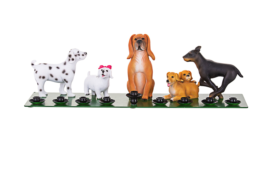 Bark Avenue Pup Menorah