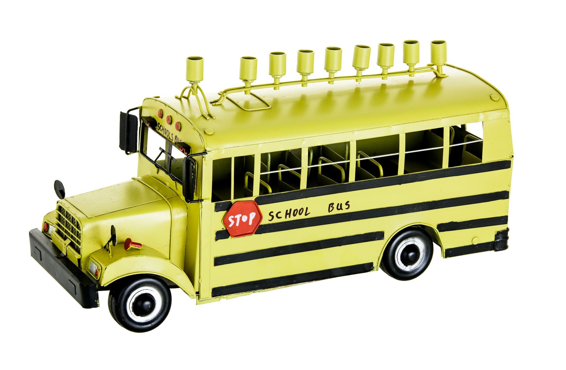 School Bus Menorah