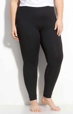 Black Leggings - Curvy