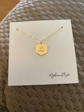 MeghannElyse Hand Stamped Be Kind Necklace
