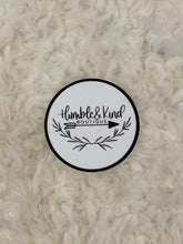 Humble & Kind Logo Die Cut Sticker