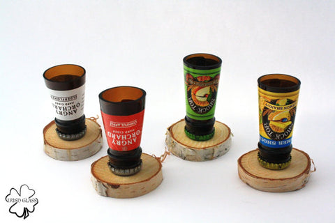 Beer Bottle Shot Glass - Angry Orchard & Shock Top Collection (Sold Individually)