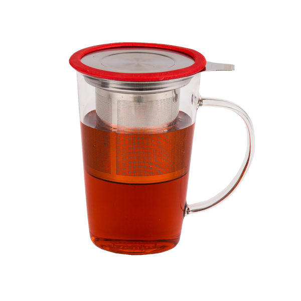 Infusing Glass Tea Mug