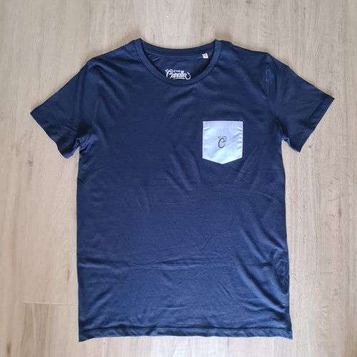 Camiseta pocket blue
