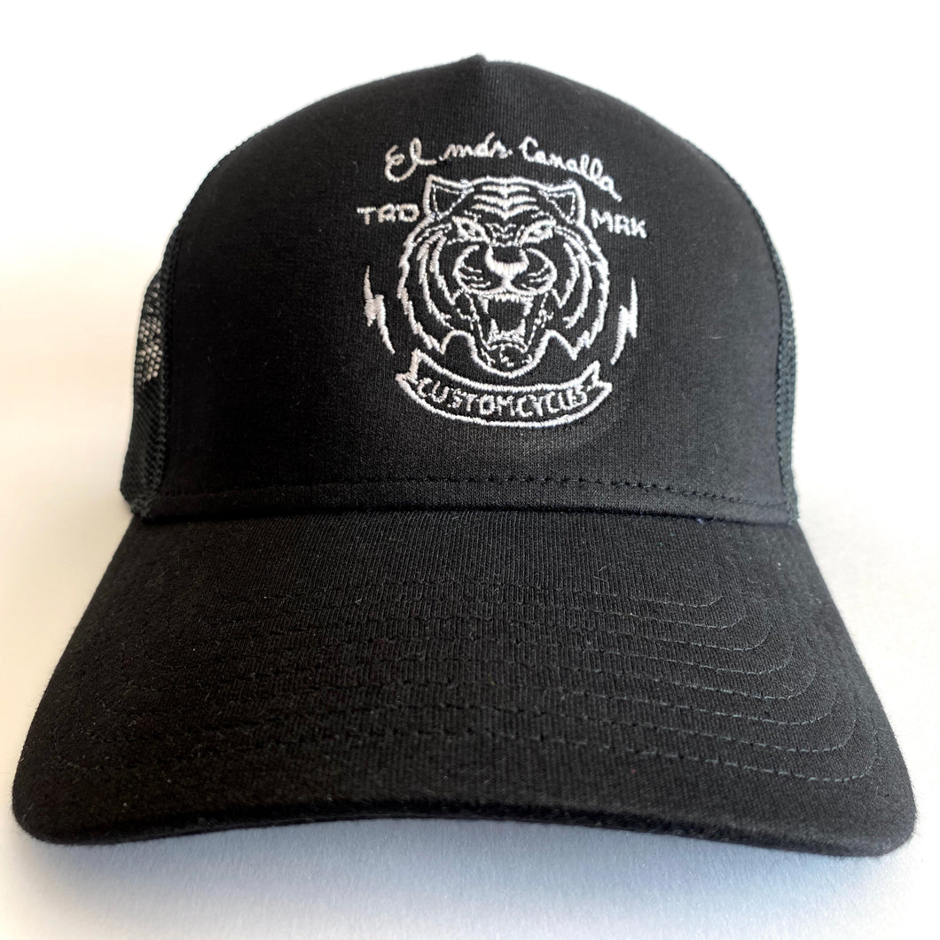 04. Gorra Black Tiger