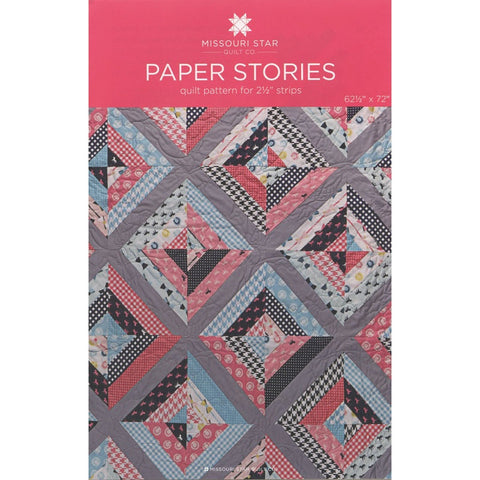 Paper Stories Quilt Pattern by Missouri Star Quilt Co.
