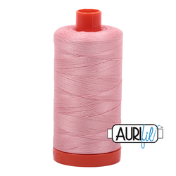 Aurifil Thread - Light Peony (2437) - 1300 m - 50/2 wt - Mako Cotton