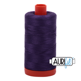 Aurifil Thread - Dark Violet (2582) - 1300 m - 50/2 wt - Mako Cotton