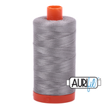 Aurifil Thread - Stainless Steel (2620) - 1300 m - 50/2 wt - Mako Cotton