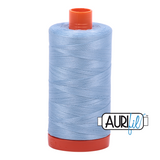 Aurifil Thread - Robins Egg (2715) - 1300 m - 50/2 wt - Mako Cotton