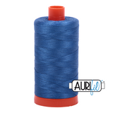 Aurifil Thread - Delft Blue (2730) - 1300 m - 50/2 wt - Mako Cotton