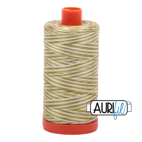 Aurifil Thread - Spring Prairie (4653) - 1300 m - 50/2 wt - Mako Cotton