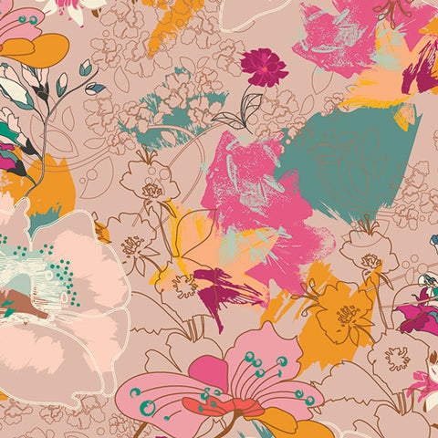 PRE-ORDER Wonderlust Boho - Legendary by Pat Bravo for Art Gallery Fabrics - 0.25 metre -  Pre Order Closes January 12 2019 - Ships/Pick Up January 15 2019