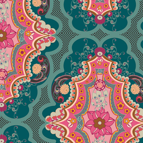 PRE-ORDER Brit Boutique Boho - Legendary by Pat Bravo for Art Gallery Fabrics - 0.25 metre - Pre Order Closes January 12 2019 - Ships/Pick Up January 15 2019