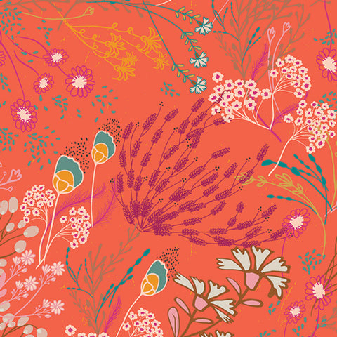 PRE-ORDER Meadow Boho - Legendary by Pat Bravo for Art Gallery Fabrics - 0.25 metre -  Pre Order Closes January 12 2019 - Ships/Pick Up January 15 2019