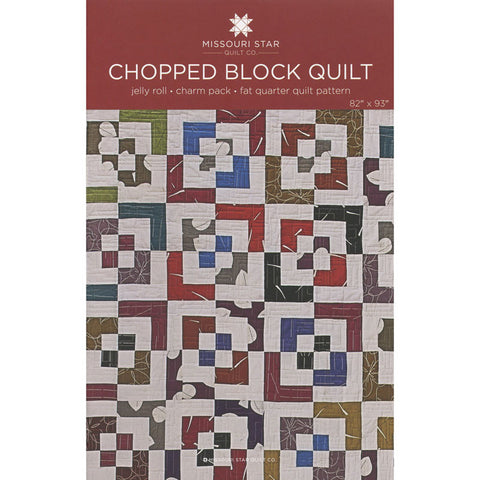 Chopped Block Quilt Pattern by Missouri Star Quilt Co.