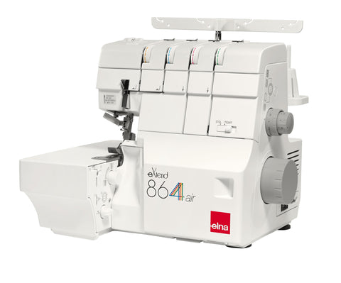 SALE - Elna Serger Bundle Extend 864Air Serger and Easycover Coverstitch Machine Plus Free Gift Value $235