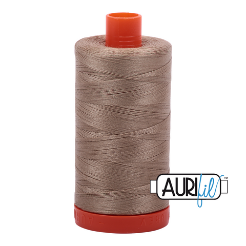 Aurifil Thread - Linen (2325) - 1300 m - 50/2 wt - Mako Cotton