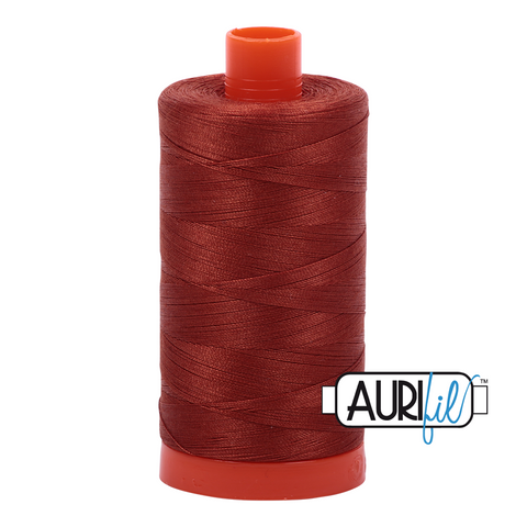 Aurifil Thread - Copper (2350) - 1300 m - 50/2 wt - Mako Cotton
