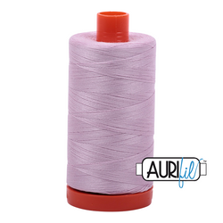 Aurifil Thread - Light Lilac (2510) - 1300 m - 50/2 wt - Mako Cotton
