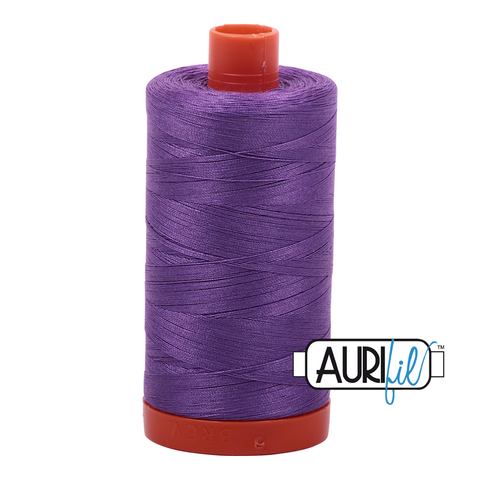 Aurifil Thread - Medium Lavender (2540) - 1300 m - 50/2 wt - Mako Cotton