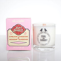 Cream Cheese and Gossip Queens Candle by Coal and Canary