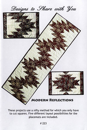 Modern Reflections Quilt Pattern by Designs to Share with You