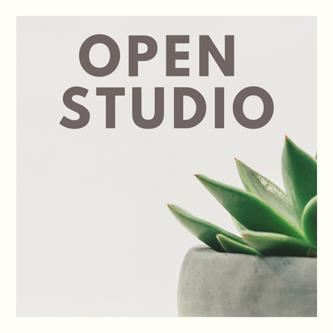 Open Studio - Tuesday August 13 July 31 9:00 - 5:00