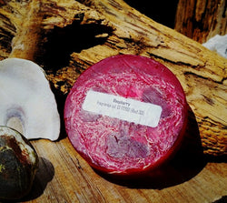 Raspberry Tootsie Loofah Soap by Virginia's Soap