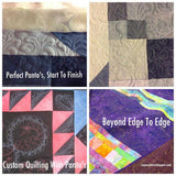 Edge to Edge and Beyond Longarm with Sue Patten - Wednesday, May 08 - 1:00 - 5:00