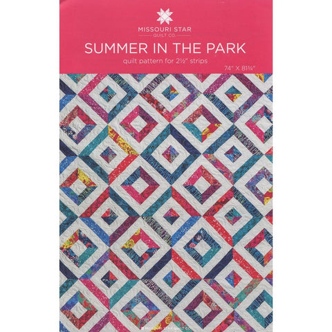 Summer In The Park Quilt Pattern by Missouri Start Quilt Co.