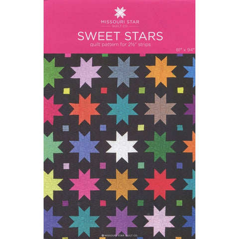 Sweet Stars Quilt Pattern by Missouri Star Quilt Co.
