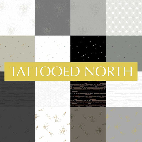 PRE ORDER Tattooed North by Libs Elliott - Fat Quarter Bundle - 28 Fat Quarters -  Pre Order Closes February 15 - Ships/Pick Up Mid-Late February
