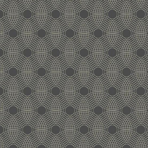 PRE ORDER Tattooed North by Libs Elliott - Ripples in Charcoal - 0.25 metre -  Pre Order Closes February 15 - Ships/Pick Up Mid-Late February