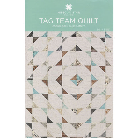 Tag Team Quilt Pattern by Missouri Star Quilt Co.