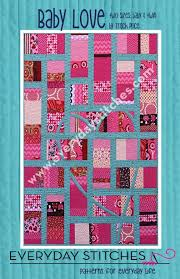 Baby Love Quilt Pattern by Everyday Stitches