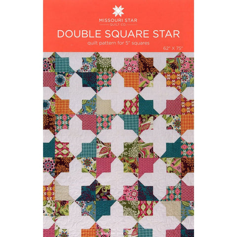 Double Square Star Quilt Pattern by Missouri Star Quilt Co.
