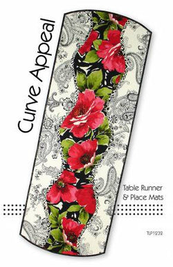 Curve Appeal Table Runner & Place Mats by Tiger Lily Press