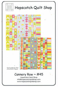 Cannery Row Quilt Pattern by Hopscotch Quilt Shop